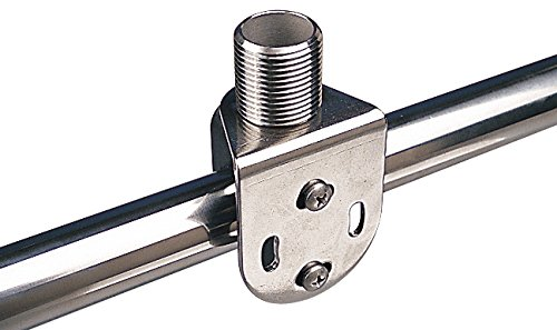 Sea Dog 327141-1 Rail-Mount Fixed Antenna Base (Cleat Mount Rail)