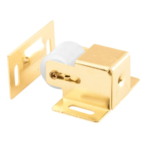 Brass Roller Catch - Prime-Line Products U 9047 Closet and Cabinet Roller Catch, Brass Plated