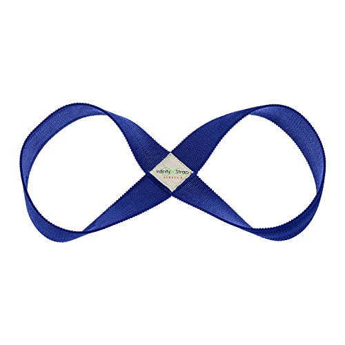 "Infinity Strap - STRETCH - Moonbeam (Blue) - Medium 16""-20"" Size"