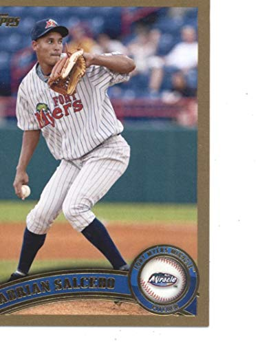 2011 Topps Pro Debut Gold #64 Adrian Salcedo Fort Myers Miracle MLB Baseball Card /50 NM-MT