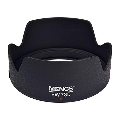 MENGS EW-73D 67mm Lens Hood ABS for Canon EF-S 18-135mm f/3.5-5.6 is USM