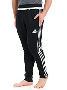 adidas Performance Men's Tiro Training Pant, Medium, Black/White/Black