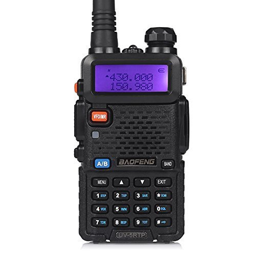 Baofeng UV-5RTP Tri-Power 8/4/1W Two-Way Radio Transceiver (Upgraded Version of UV-5R with Tri-Power), Dual Band 136-174/400-520MHz True 8W High Power Two-Way Radio by BAOFENG