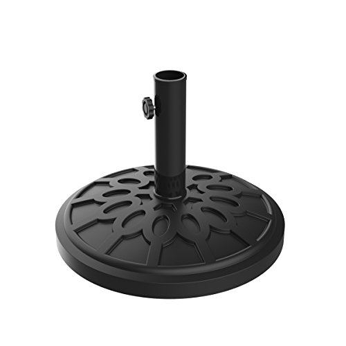 Pure Garden Umbrella Base Outdoor Patio Umbrella Holder, Heavy Weight Holds Up to 1.9Â