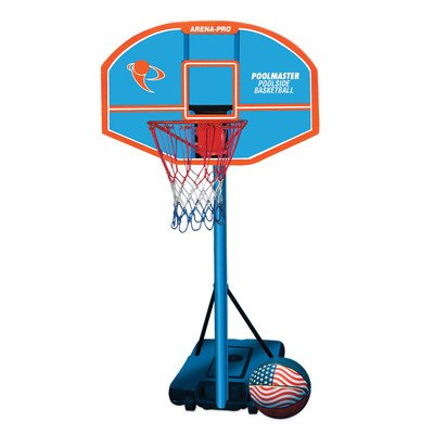 72852 Poolmaster Arena-Pro Composite Adjustable Basketball Game