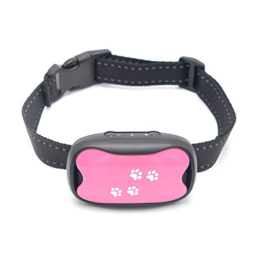 Dog Bark Collar - Safe Anti Barking Control Device - No Shock, Remote or citronella - Vibration and Sound Dog Collars - Best Non Shock Stop Barking Training Collar for Small Medium Large Sized Dogs (Dog Collars With Water Spray)