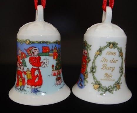 Porzellanglocke Weihnachtsglocke 1996 OHNE Verpackung Hutschenreuther