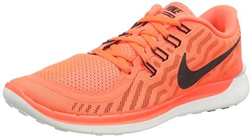Nike NIKE FREE 5.0 - Zapatillas de running para hombre Hyper Orange/Blck-Snst Glw-Wht