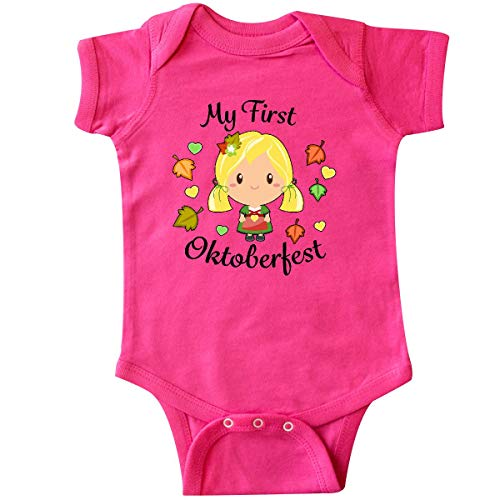 inktastic - My First Oktoberfest Girl Infant Creeper 12 Months Hot Pink 321b2 for $<!--$14.99-->