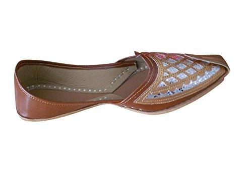 Zapatillas Creations De Por Casa Para Sintética Kalra Marrón Hombre Piel Estar P4xH5Pw