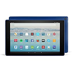 """Fire HD 10 Tablet with Alexa Hands-Free, 10.1"""" 1080p Full HD Display, 32 GB, Marine Blue - with Special Offers"""