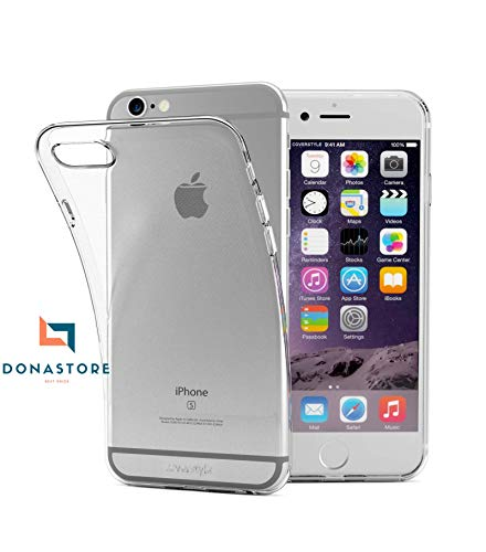 iPhone 6 case/iPhone 6s case Ultra Clear 4.7 Inch-Hybrid TPU PC Shock-Absorption Anti-Scratch Bumper Hard Back Cover (HD Crystal Clear) Case Compatible Apple iPhone 6 / iPhone 6s Protective Cover
