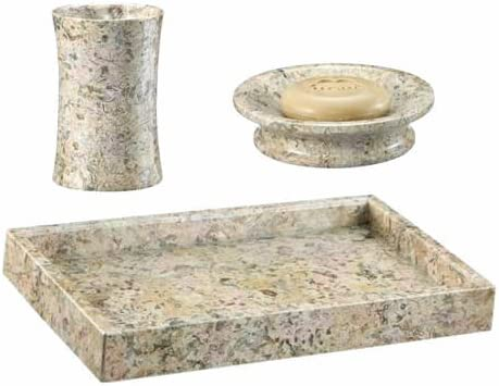 Traditional Coral Gift for 35th Wedding Anniversary Khan Imports Coral Stone Tray
