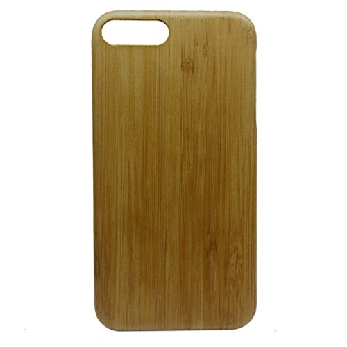 iPhone 8 Plus Shockproof Protector Case Unique Wooden Cover Made by Eco-friendly Classy Wood Veneer Anti Impact Anti Drop 1mm Phone Case - Veneer Bullet