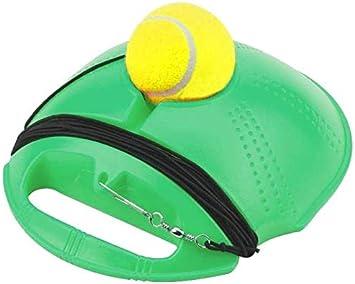 Moonmoonlala Solo pelota de entrenamiento de tenis, con cuerda ...