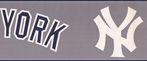 New York Yankees MLB Baseball Team Fan Sports Wallpaper Border Modern Design Roll 15