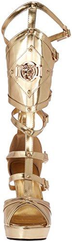 Scarpe Ellie Donna 426-alma Sandalo Gladiatore Oro