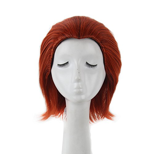Yuehong Short Wig Anime Cosplay Wig For Women Heat Resistant Wig (X Men Mystique Halloween Costume)