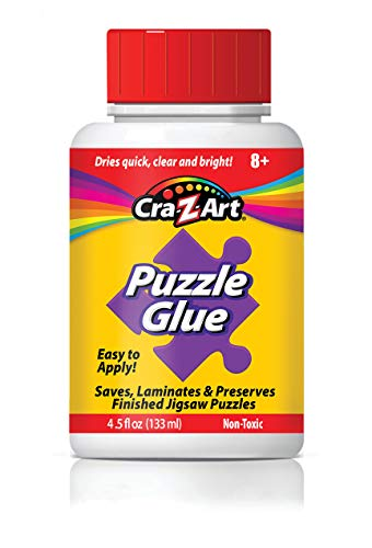 Jigsaw Puzzle Glue with Applicator! Saves