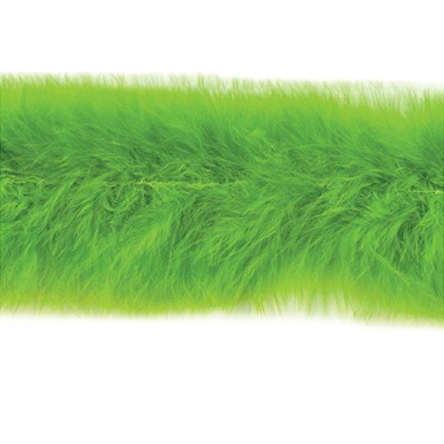 Expo International Marabou Feather Boa Trim, 10 yd, Lime ()