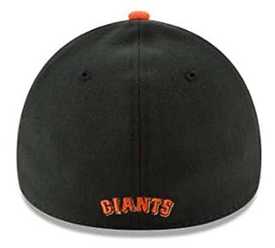 New Era MLB San Francisco Giants Team Classic 39Thirty Baseball Hat Cap 10975793 Black