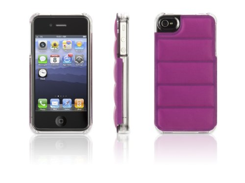 Griffin GB03124 Elan Form Flight for iPhone 4S - 1 Pack - Retail Packaging - Orchid w Clear