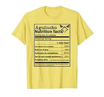 Amazon.com: Aguilucho Nutrición hechos Dominicana aguilas ...