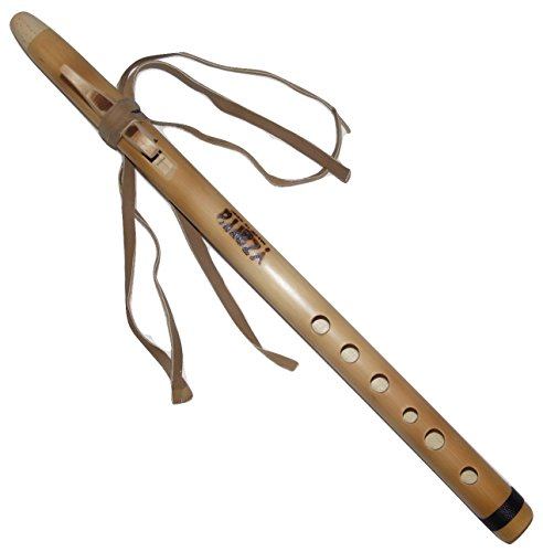 Cherokee Quenilla Handmade Bamboo - Tuned D (RE)- Case Included by Yzarra