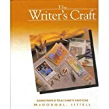 img - for Writer's Craft/Grade Six Gold book / textbook / text book