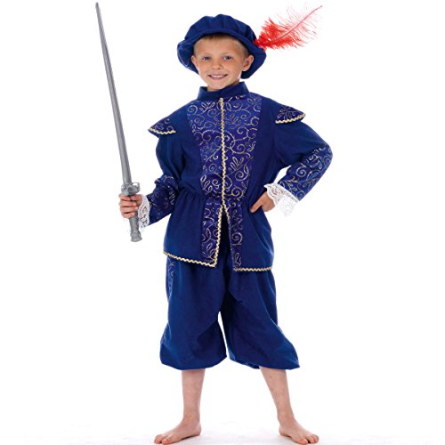 Charlie Crow Sir Francis - Kids Costume - Size: 140Cm - 14th Century Elizabethan Costumes