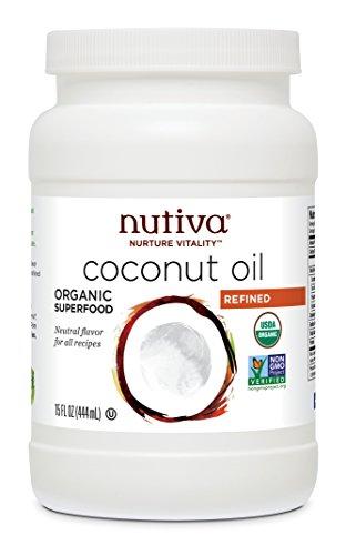 Nutiva Organic Coconut Refined Ounce
