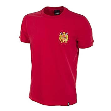 COPA Football - Camiseta Retro España 1978 (XL): Amazon.es: Deportes y aire libre