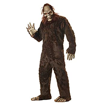 5ba444568 Amazon.com: California Costumes Men's Big Foot,Dark Brown,One Size ...