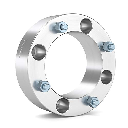 RockTrix for Precision European (4) 2'' Thick 4x137 ATV Wheel Spacers - 10x1.25 Studs for Kawasaki Can Am Can-Am: Brute Force Mule Outlander Commander Maverick Renegade Bombardier, bobcat wheel spacers by RockTrix (Image #5)
