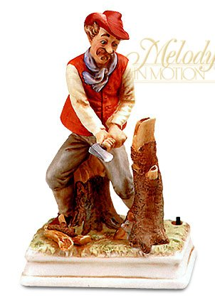 """Melody in Motion """" Woodchopper """"アニメーション& Musical Figure # 07132 B00GNHBAGW"""