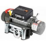 BADLAND WINCHES 12,000 lb. Off-Road Vehicle Winch with Automatic Load-Holding Brake