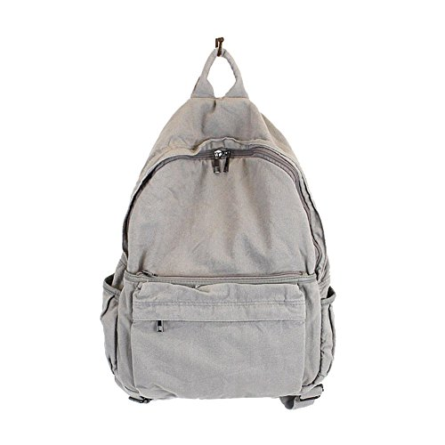 MiCoolker Womens Backpack Travel Men, Women Casual Denim Backpack for School Book Bag Lightweight Travel Rucksack ()