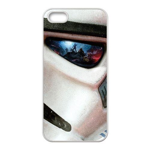 W4S14 star wars front N3Z4OC coque iPhone 4 4s cellulaire cas de téléphone couvercle coque blanche WZ2VSC4OK