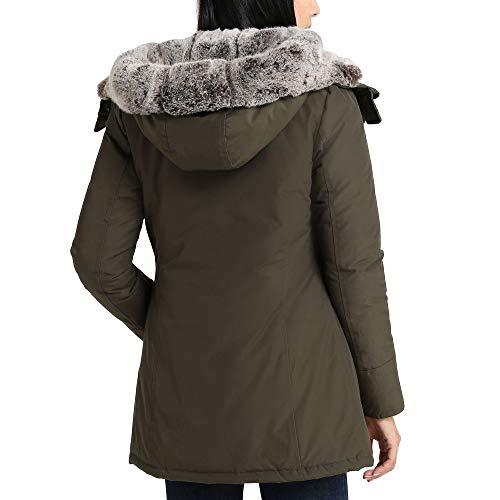Blouson Beige Coton Wwcps2647cn03dag Femme Woolrich XSqpwFn6xx