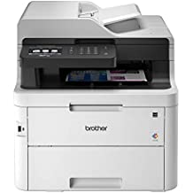 "Brother MFC-L3750CDW Compact Digital Color All-in-One Printer Providing Laser Printer Quality Results, 3.7"" Color Touchscreen, Wireless Printing, Duplex Printing"