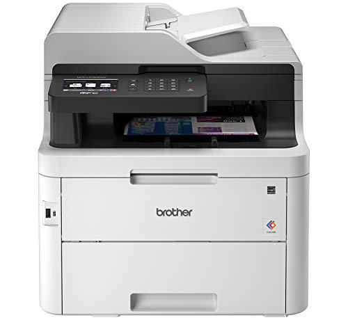 Brother MFC-L3750CDW Digital Color All-in-One Printer, Laser Printer Quality, Wireless Printing, Duplex Printing, Amazon Dash Replenishment Enabled