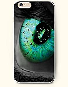 New Case Cover For Apple Iphone 6 4.7 Inch Hard Case Cover - Big Green Eye