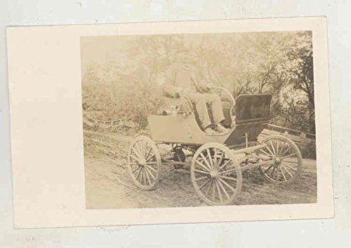 Rppc Photo Postcard - 1899 1900 ? Antique Automobile RPPC Real Photo Postcard