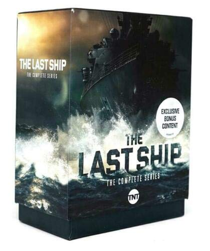 The Last Ship Season 1-5 The Complete Series (DVD , 15-Disc Box Set)