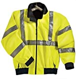 Big Mens District Safety Jacket with Reflective Tape by TR Gold® (Big & Tall and Regular Sizes)