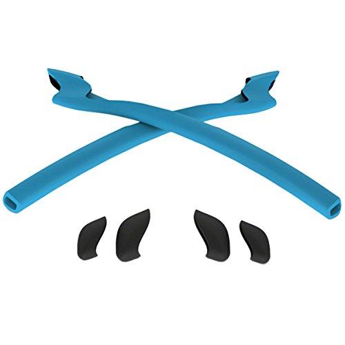Oakley Half Jacket 2.0 Earsocks / Nosepads Kit Sky - Sunglasses Oakley Parts