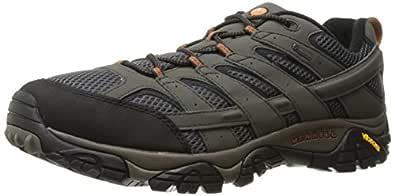 Merrell Men's Moab 2 GTX Hiking Shoe, Beluga, 7 M US