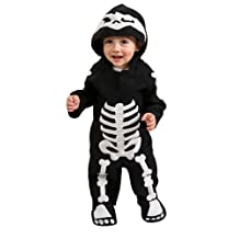 Rubie's Costume Baby Skeleton Romper Costume