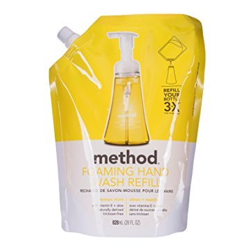 Method Foaming Hand Wash Refill, Lemon Mint, 28 Fluid Ounce