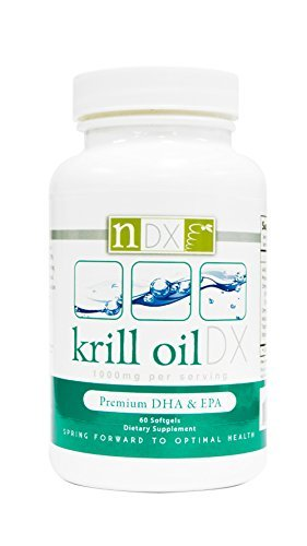 Natural Dynamix Krill Oil DX Fish Oil Supplements, 60 Softgels by Natural Dynamix